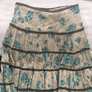Purchased from Anthropologie Skirt